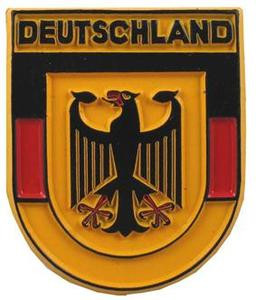 Germany Crest, Europe souvenir magnet
