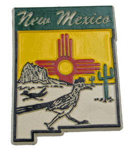 Souvenir state magnet – New Mexico