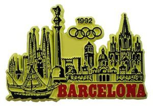 Barcelona Spain Souvenir Magnet