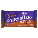 Cadbury Dairy Milk Whole Nut 100g
