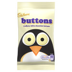 Cadbury White Chocolate Buttons 48G