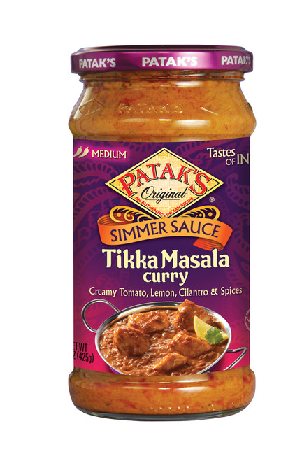 recipe: pataks tikka masala curry sauce [32]