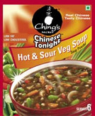 Chings Hot & Sour Veg Soup 50G