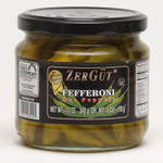 Zergut Fefferoni Hot Peppers 12Oz