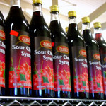 Zergut Syrup Sour Cherry 33Oz