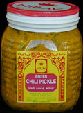 Nirav Green Chili Pickle 2Lb