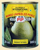 Pachranga Unpeeled Mango Pickle 800G