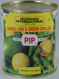 Pachranga Mango Lime & Chilli Pickle 800G