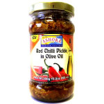 Ashoka Red Chilli Pickle Olive Oil 250Ml
