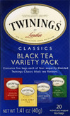 Twinings Tea Black Variety Pack20's