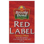 Red Label Tea Bags 216s