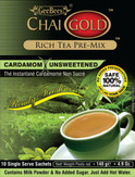 Chai Gold Cardamom Tea (Unsweetened) 4.9 oz