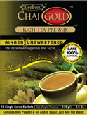 Chai Gold Ginger (Unsweetened) 4.9oz