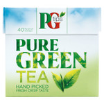 Pg Tips Pure Green Tea 40'S