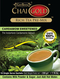 Chai Gold Cardamom Tea (Sweetened) 7.7