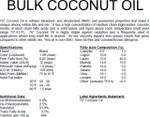 Coconut Oil (Bulk)