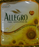 Allegro Sunflower Oil 4L
