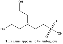 N,N-bis(Hydroxyethyl)-2-aminoethanesulfonic acid