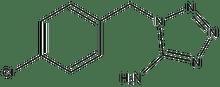 1-(4-chlorobenzyl)-1H-1,2,3,4-tetraazol-5-ylamine 500 mg