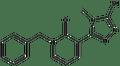 1-benzyl-3-(4-methyl-5-sulfanyl-4H-1,2,4-triazol-3-yl)-2(1H)-pyridinone 500 mg