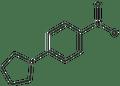 1-(4-nitrophenyl)pyrrolidine 500 mg