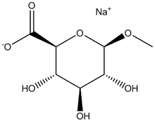 1-O-Methyl-β-D-glucuronic acid, sodium salt