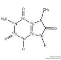 1,7-Dimethyluric Acid-[13C4,15N3] 1mg