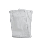 Single Weave Judo Pants - White