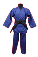 Medium Weight Color Karate Uniform, Blue