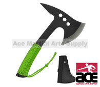 "11"" Survival Zombie Killer Tactical Throwing Axe Single Edge with Sheath"