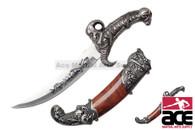 "11"" Fantasy Skull Dagger with Scabbard"
