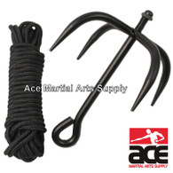 Ninja Folding Grappling Hook with 33 Foot Rope