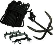 Ninja Climbing Set w/ Grappling Hook & Foot Spikes