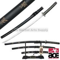 3 Pcs Last Samurai Movie Sword Set With Stand