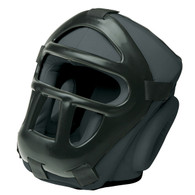 Head Gear with Removable Cage, Black