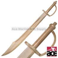 "30"" Wooden pirate sword. Light weight and durable. Great for cosplay and productions!"