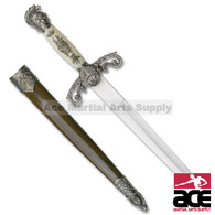 """14"""" Overall Medieval Knight Dagger"""