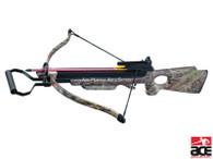 NEW 150 LB ARCHERY HUNTING 220 FPS CAMO BOW Gun CROSSBOW w/ ARROWS BOLTS
