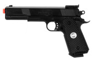 NEW M 1911 A1 BLACK OPS AIRSOFT SPRING HAND GUN PISTOL Sniper Rifle w/ 6mm BB