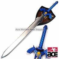"37.5"" LEGEND OF ZELDA MASTER SWORD TWILIGHT PRINCESS REPLICA w/ PLAQUE MOUNT"