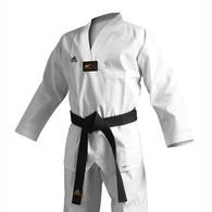 Adidas Adichamp 3 TKD Uniform, White Lapel