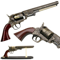 Civil War Era Firearm Colt 1851 Naval Revolver Pistol Replica
