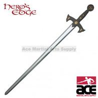 "47"" Foam Padded Knights Templar Crusader Sword Costume Prop Cosplay LARP"
