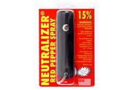 Neutralizer Pepper Spray w/ Holster (Black)