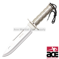 "10"" Survival knife with 440 Stainless Steel Blade"