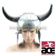 Viking Helmet 18 Gauge Steel Norse Medieval Costume Stage Prop