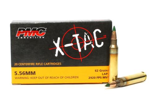 Surplus Ammo, Surplusammo.com 5.56 62 Grain Green Tip-LAP PMC X-TAC Ammunition 5.56K