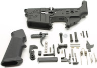 Surplus Ammo, Surplusammo.com Aero Precision X15 Stripped AR15 Lower Receiver SAA AR-15 Lower Parts Kit - Unassembled