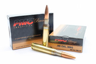 surplusammo.com 50 BMG 660 Grain FMJ-BT PMC Bronze Rifle Ammunition Bad Ass Ammo