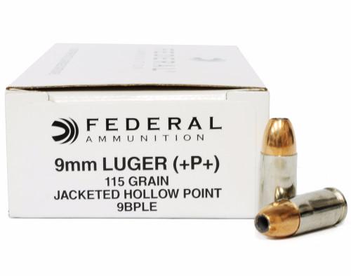 Surplus Ammo | Surplusammo.com 9mm 115 Grain JHP +P+ Federal